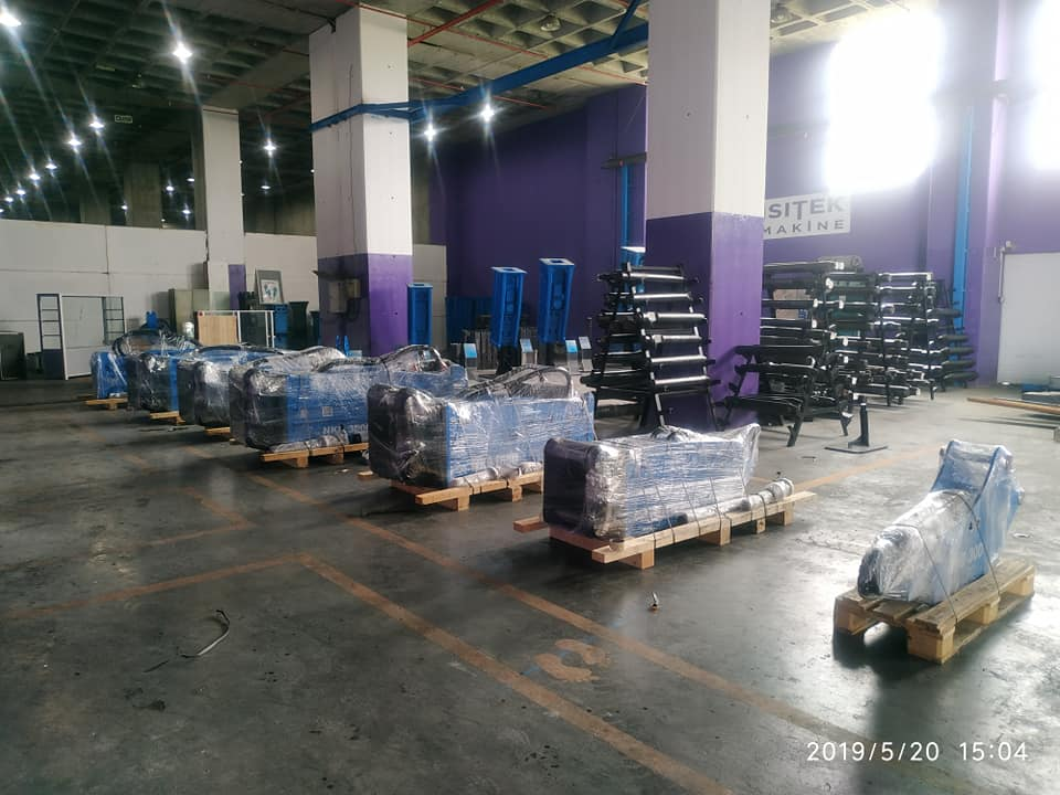 ISITEK Machine Factory Showroom